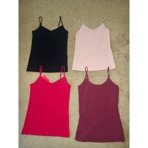 Tank tops in different colors, $1 each